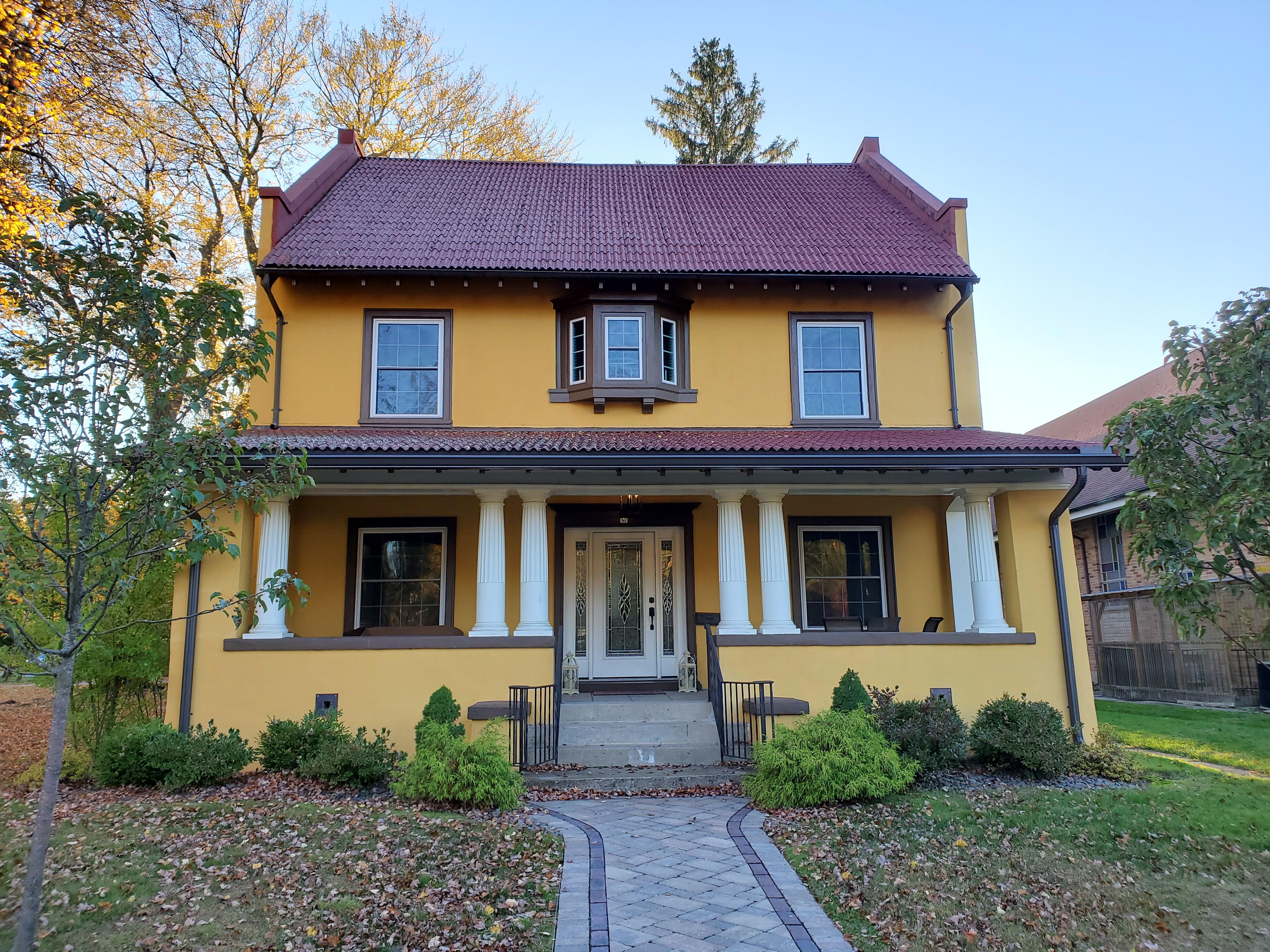 House designed by Edward C Smith