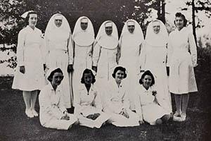 05 - St. Francis Nursing School Staff, 1941 - LH Collections